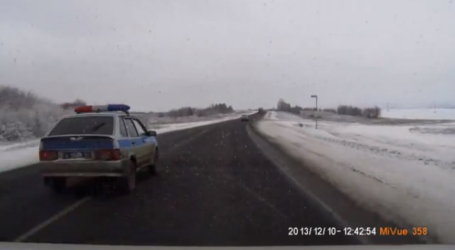 Crazy Russian Police Drivers