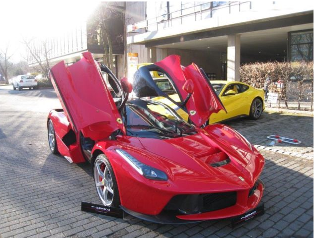 The First Ever Made LaFerrari Goes On Sale