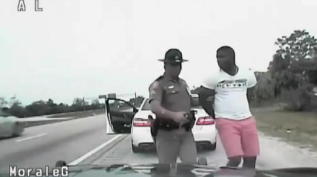 Yasiel Puig was speeding with his mom in the car, wore pink shorts (Video)