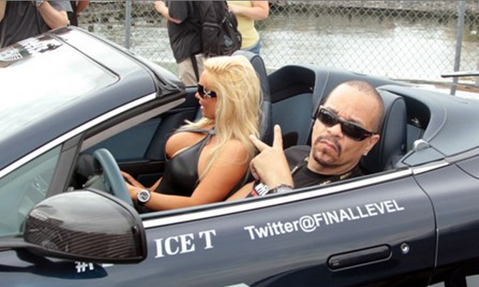 Coco Austin and Ice-T Fill The Trunk of Rolls Royce
