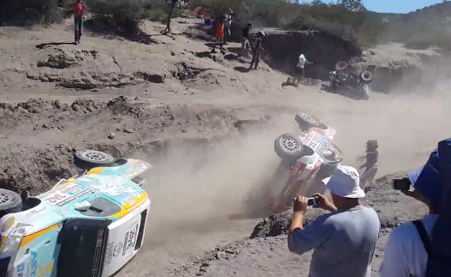 These Dakar Rally Drivers Show Us Just How Difficult the Track Is! #CrashFest (VIDEO)