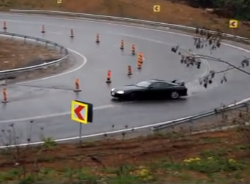 Just When You Thought This Supra Was Done Drifting The Perfect Road, It Keeps On Going