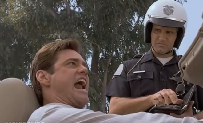 Top 10 Responses to getting pulled over by the cops