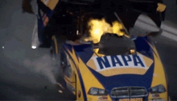 This Drag Race Car Was Travelling at 300mph When It Exploded! The Driver Survived! (VIDEO)