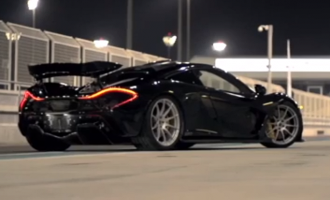 Chris Harris Tests The McLaren On Road and Track In Abu Dhabi (VIDEO)