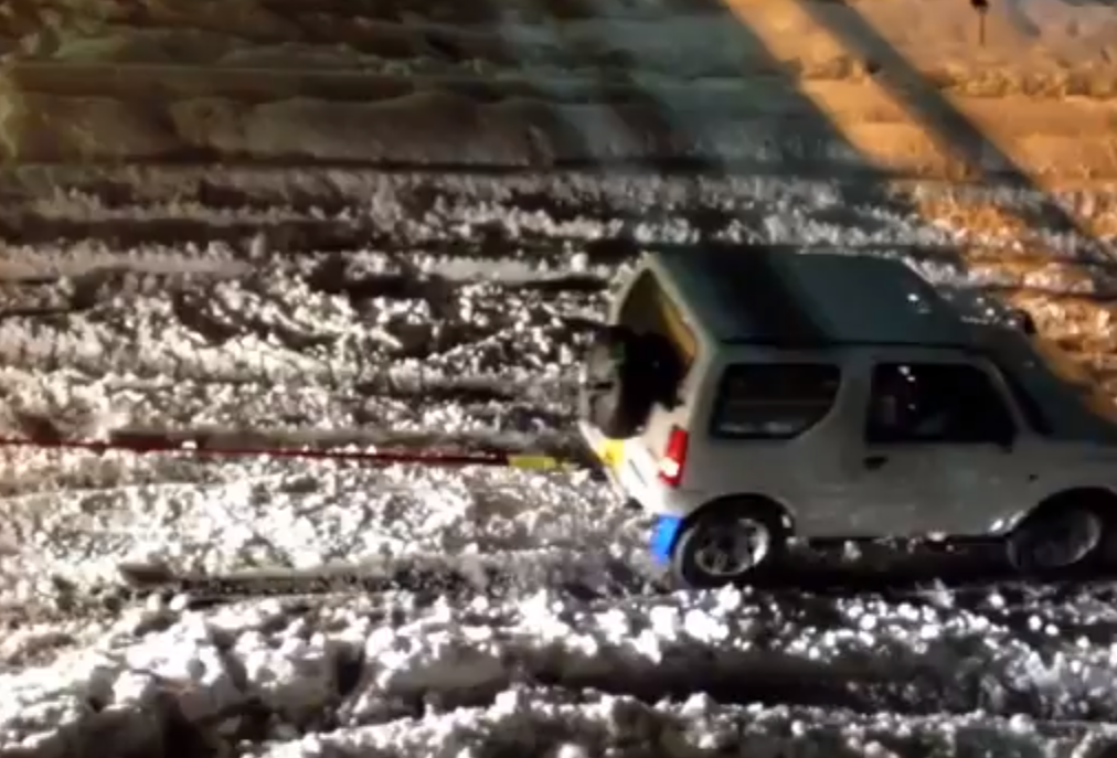 Suzuki Jimny Shows Off Incredible Samurai Spirit Japanese Snowstorm (VIDEO)