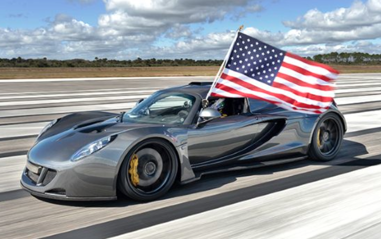 Hennessey Venom GT fastest car in the world