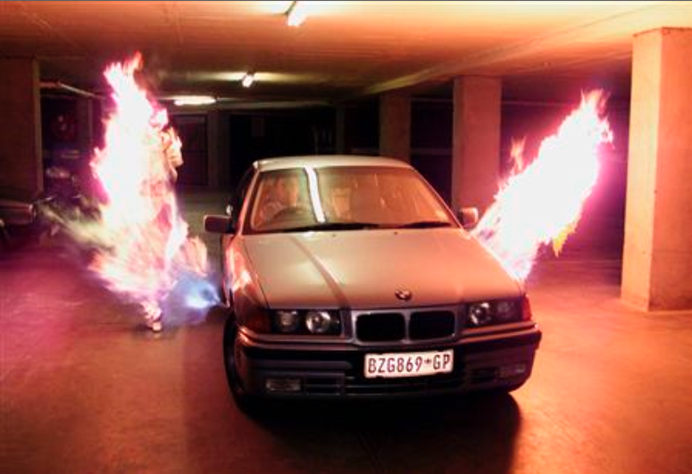 South African Car Flamethrower