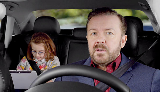 Ricky Gervais Stars In Hilarious Audi A3 New Car Commercials (VIDEO)