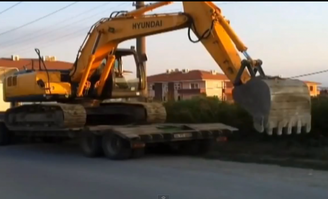 truck Out of Fuel, Use an Excavator