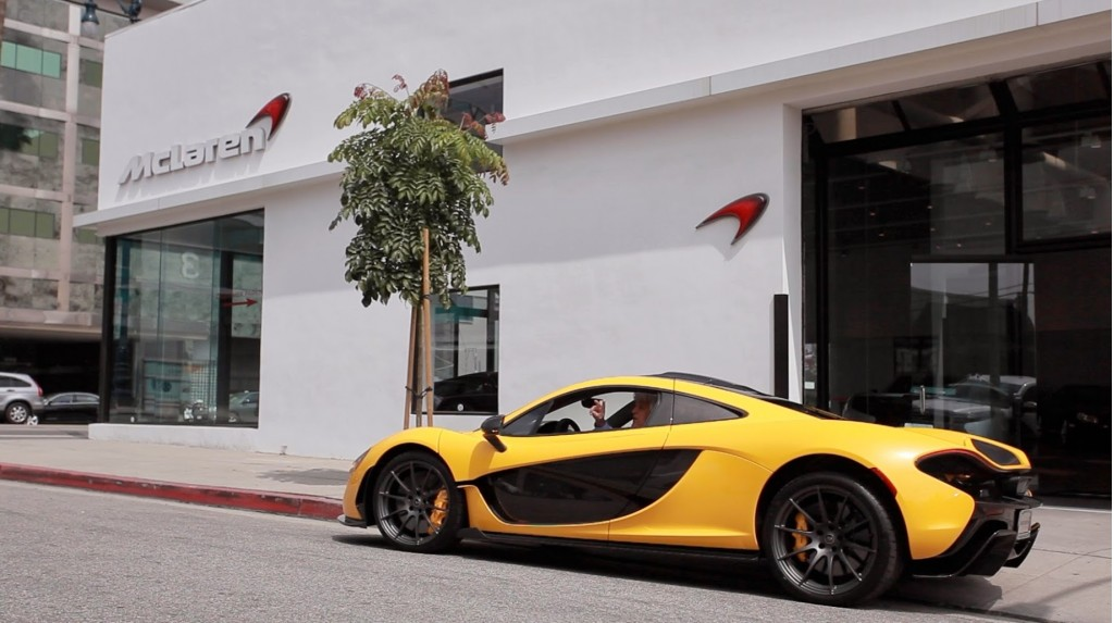 jay-lenos-mclaren-p1-being-delivered-in-beverly-hills