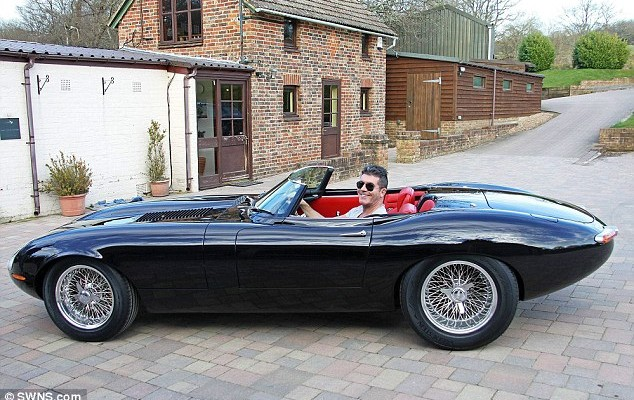 Simon Cowell Jaguar Eagle Speedster