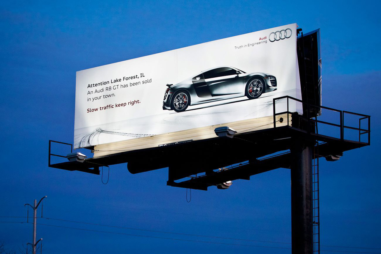 Car Advertising Billboard