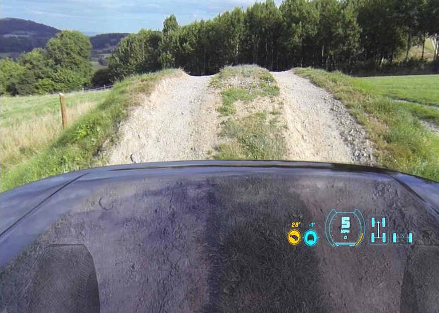 Land Rover's Transparent Hood Is Technology From The Future