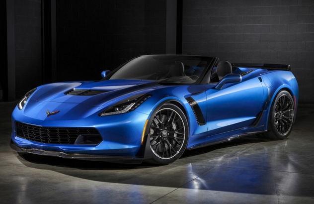 2015 Chevrolet Corvette Z06 Convertible Drops Its Top