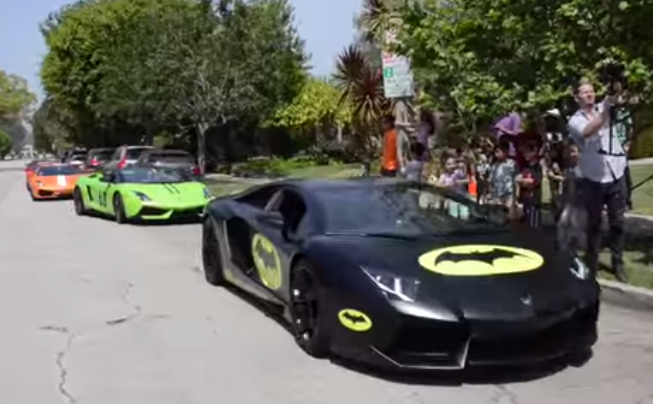 Lamborghini Dealer Gives 7-Year-Old The Best Birthday Party Ever