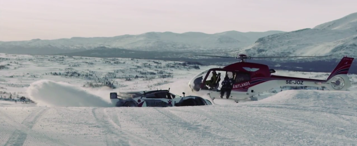 Jon Olsson S Supercar Drifting Up Snow Slopes Is This Crazy Carhoots
