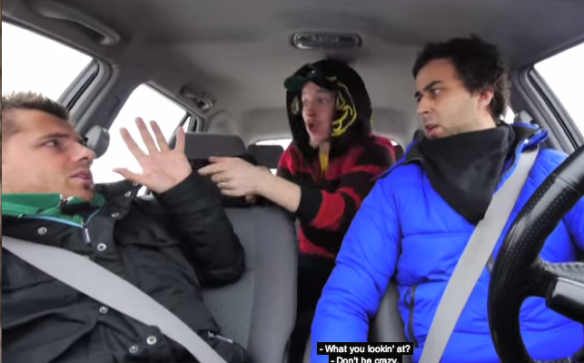 hitch hiker prank