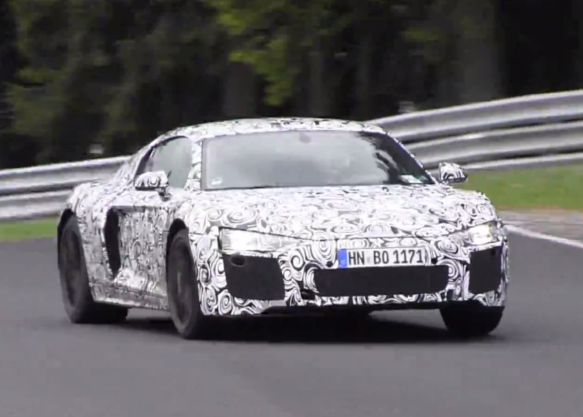 new-audi-r8-Nurburgring