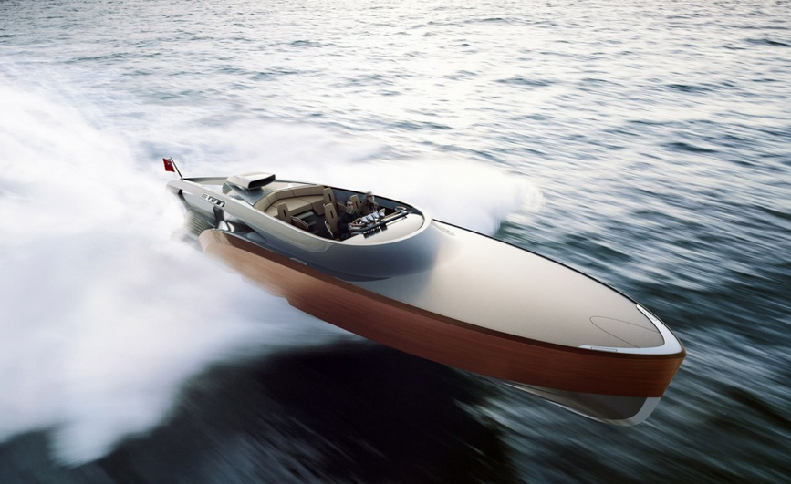 New Aeroboat Revealed With Rolls-Royce Merlin V-12