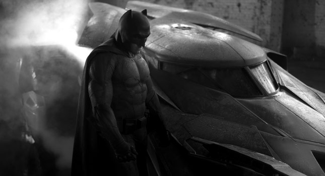 ben affleck batmobile