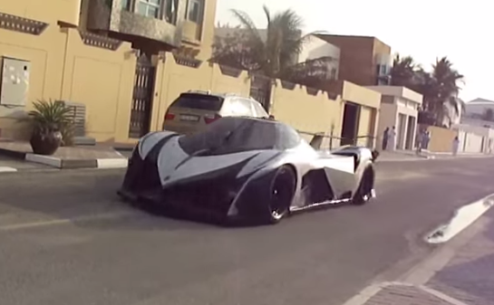 5,000-HP, 348-MPH Devel Sixteen Spotted In The Wild: (VIDEO)