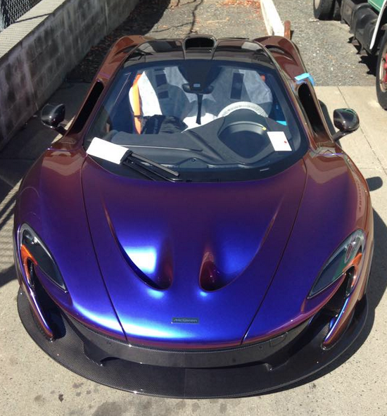 Baseball Pitcher CJ Wilson Buys Insane McLaren P1
