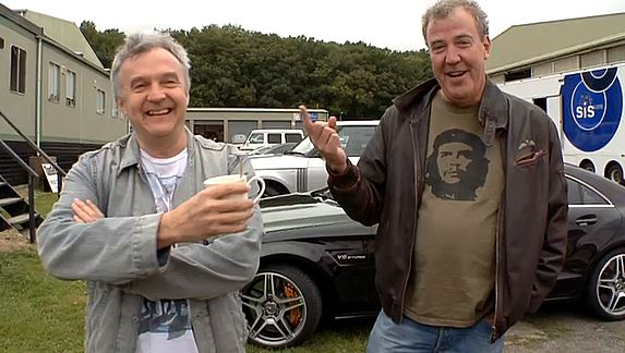 Clarkson meets with former TopGear producer