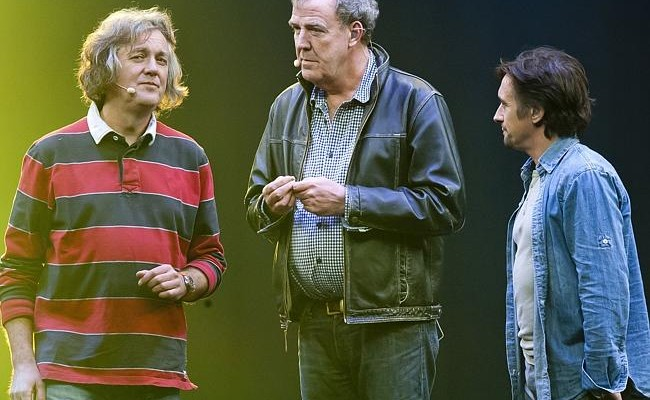 Clarkson, Hammond and May TV show