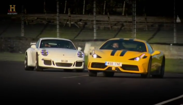 458 Speciale vs 911 GT3