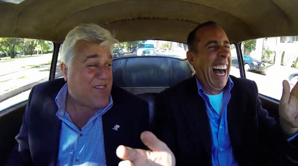 Comedians In Cars Getting Coffee: Jay Leno & Seinfeld