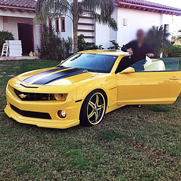 Mexican Drug Lord 'Busted' Because Of His Supercar