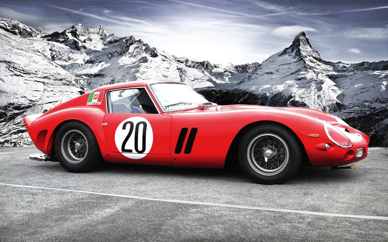 check out this ferrari 250 gto carved from marble rocks carhoots. Black Bedroom Furniture Sets. Home Design Ideas
