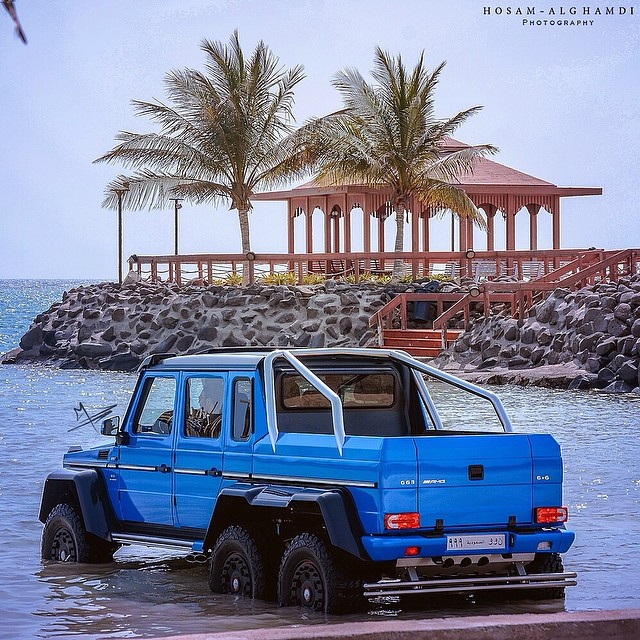 Meet The Mercedes-Benz G63 AMG 6x6 Named 'The Sea Monster