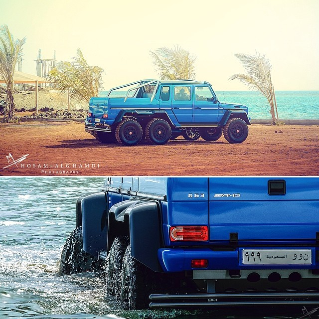 Mercedes Benz G63 Used: Meet The Mercedes-Benz G63 AMG 6x6 Named 'The Sea Monster