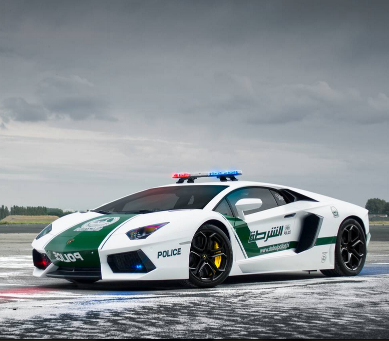 World S Fastest Police Cars Behind The Scenes Of Dubai S
