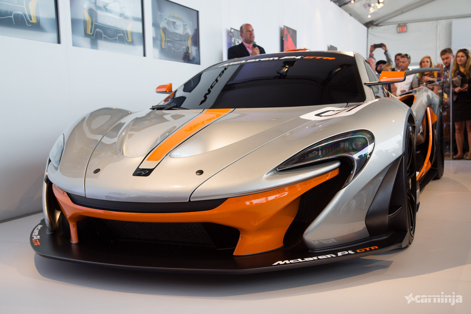 the mclaren p1 gtr is a 986bhp hybrid monster carhoots