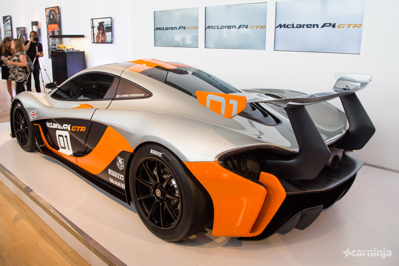 the mclaren p1 gtr is a 986bhp hybrid monster carhoots. Black Bedroom Furniture Sets. Home Design Ideas