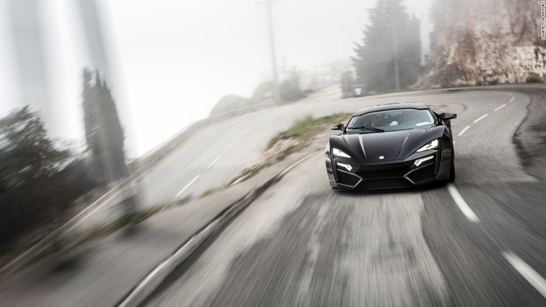 The First Arab Supercar Comes Equipped With Diamonds In