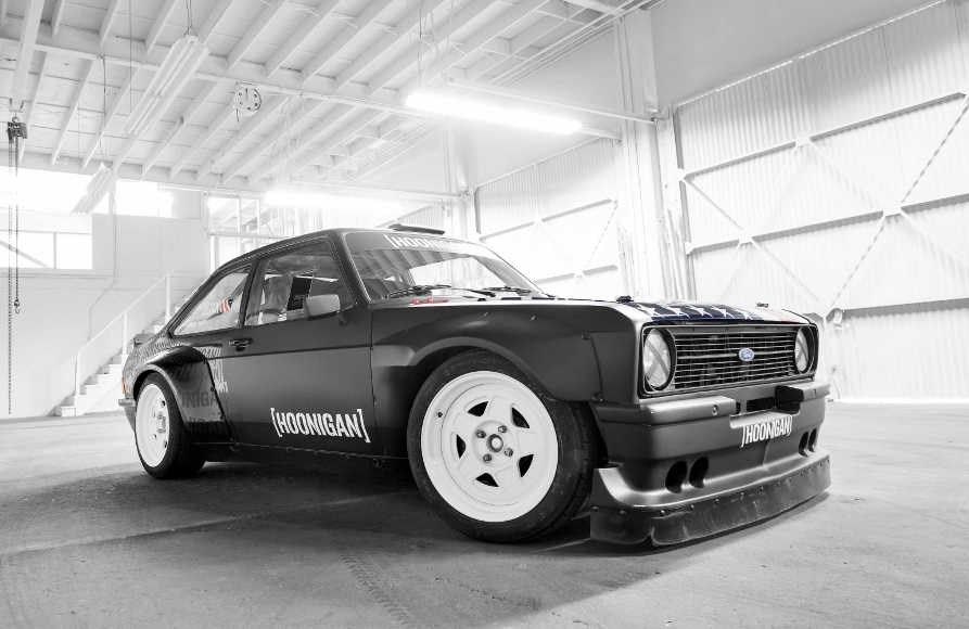Hoonigan Escort >> Ken Block's New Ford Escort Mk2 Gymkhana Car. - Carhoots